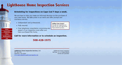 Preview of lighthousehomeinspection.biz