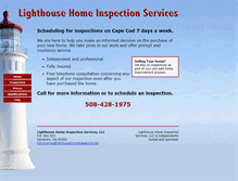 Tablet Preview of lighthousehomeinspection.biz